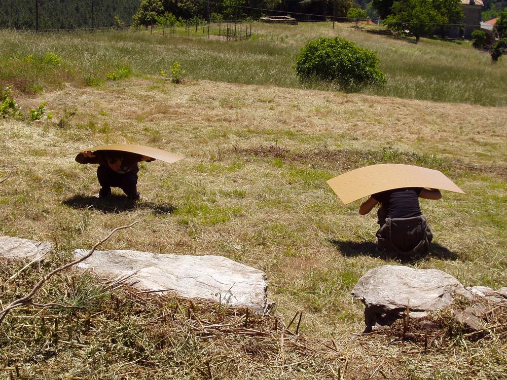 Projet (faire) Cabane - Anne Collod - 2006/ 2007